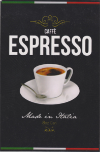 Caffe Espresso Label by Storad