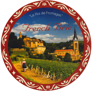 French Brie by Storad Label
